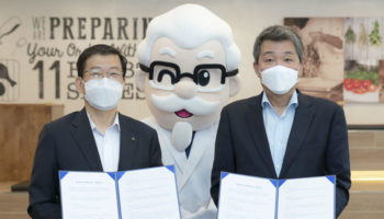 KFC and Hyundai Robotics memorandum of understanding agreement