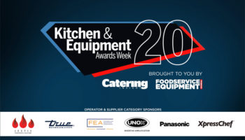 Kitchen & Equipment Awards 2020 sponsors slide
