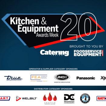 Kitchen & Equipment Awards 2020 sponsors slide