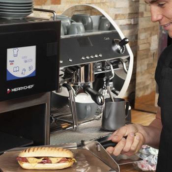 Merrychef high-speed oven