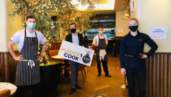 Gusto Restaurants Pledge1Cook1 campaign