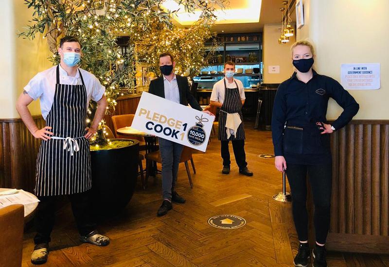 Gusto Restaurants Pledge1Cook1 campaign