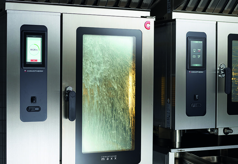 Convotherm combi oven cleaning