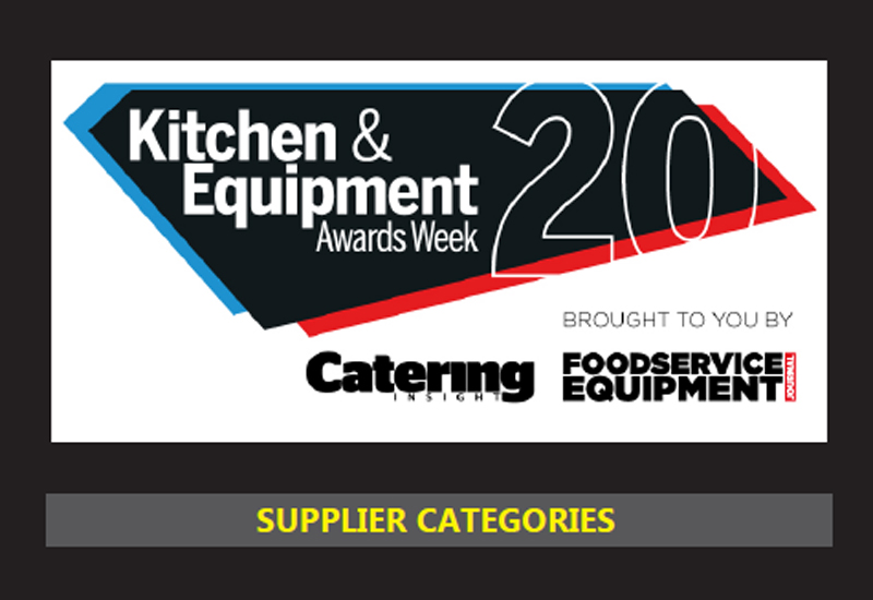 Supplier categories