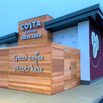 Costa Coffee Drive Thru, Durham 1