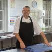 Mark Heard, head chef, King Edward V11 Hospital