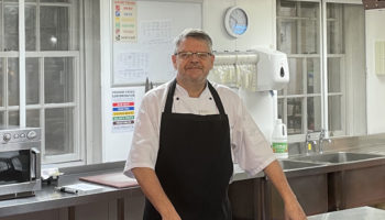 Mark Heard, head chef, King Edward V11 Hospital