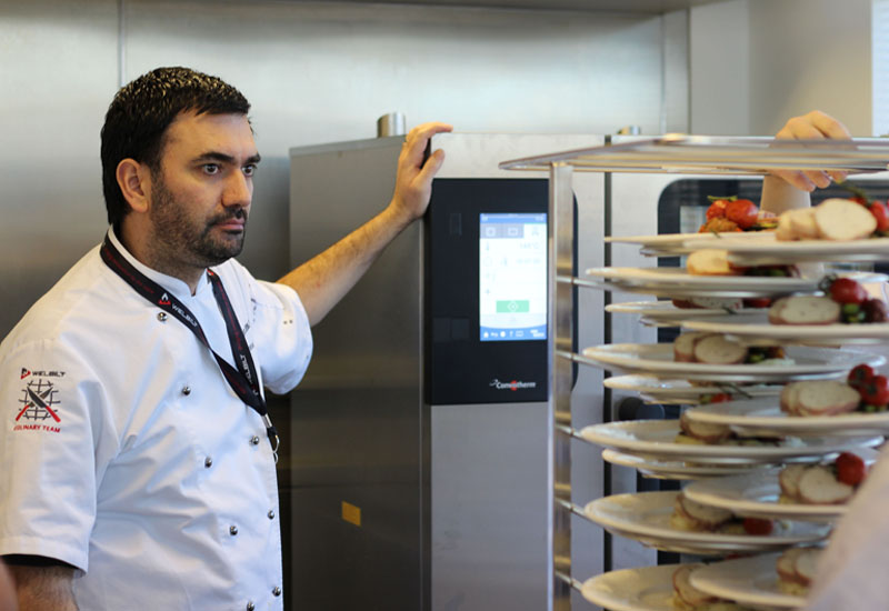 Paul Patel, development chef