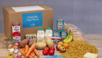 Chartwells five-day primary school children lunch hamper