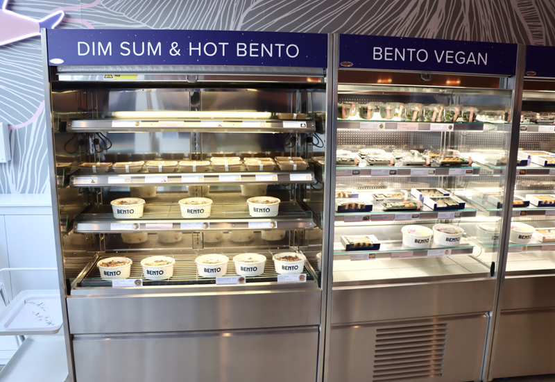 Merchandiser at Bento Asian Food Bar 1