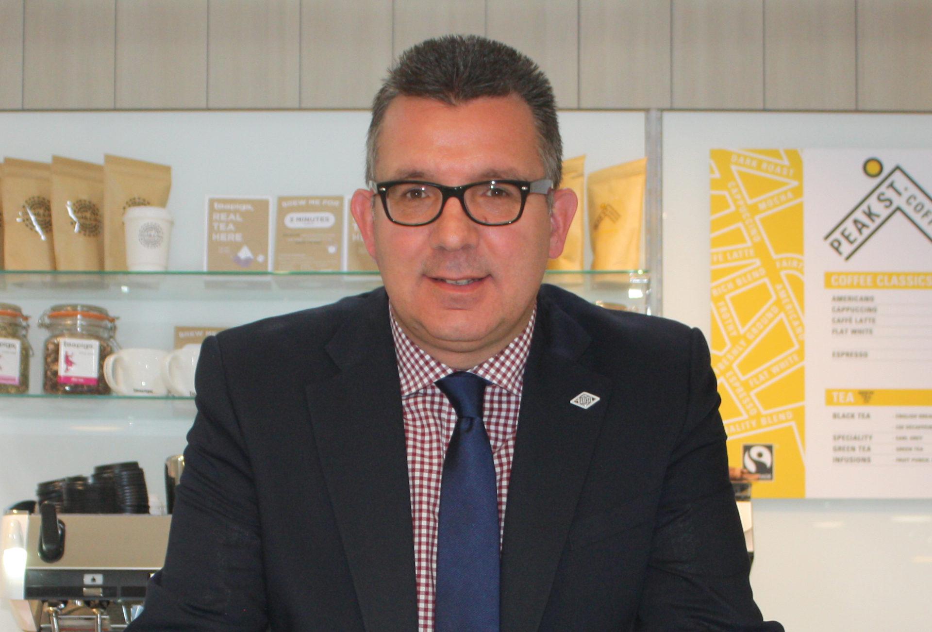Steve Lovegrove, sales director