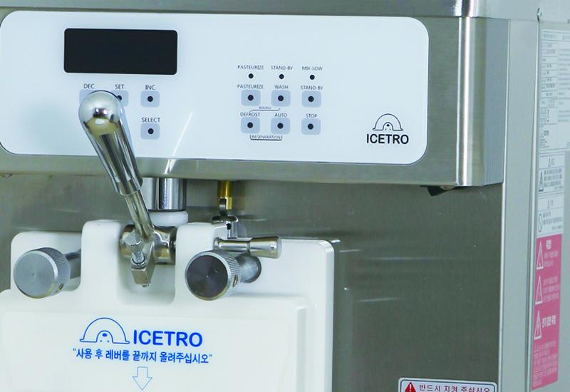 Malibu Icetro CT 211 ice cream machine 1