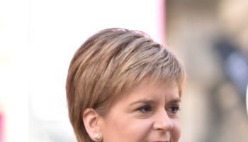 Nicola Sturgeon, first minister of Scotland & leader of the SNP