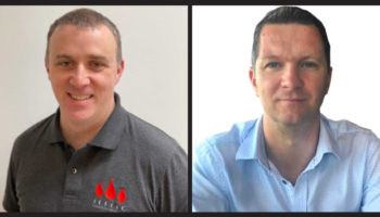 Steve Morris, sales director and Ben Dale, managing director