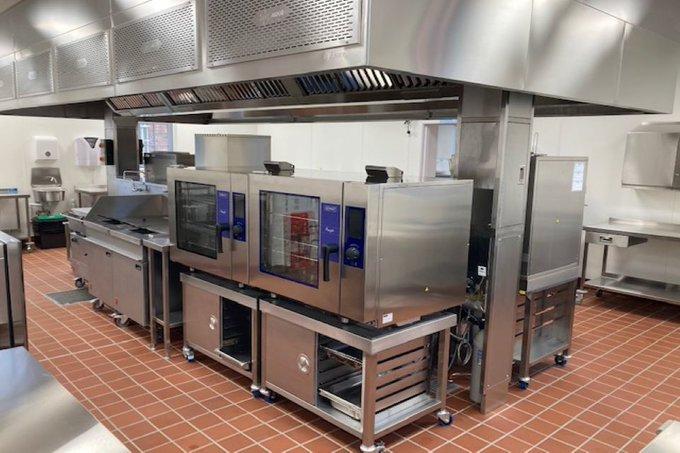 Cameron Barracks, Inverness kitchen