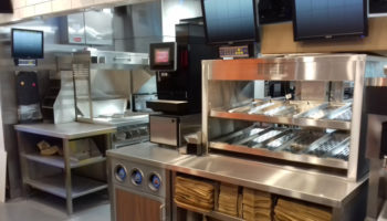 Burger King open kitchen format, Barrow-in-Furness