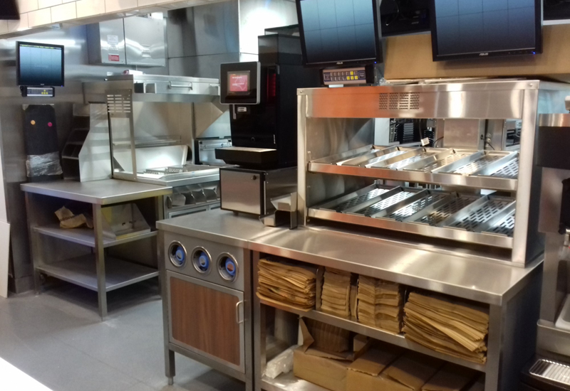 Burger King open kitchen format, Barrow-in-Furness