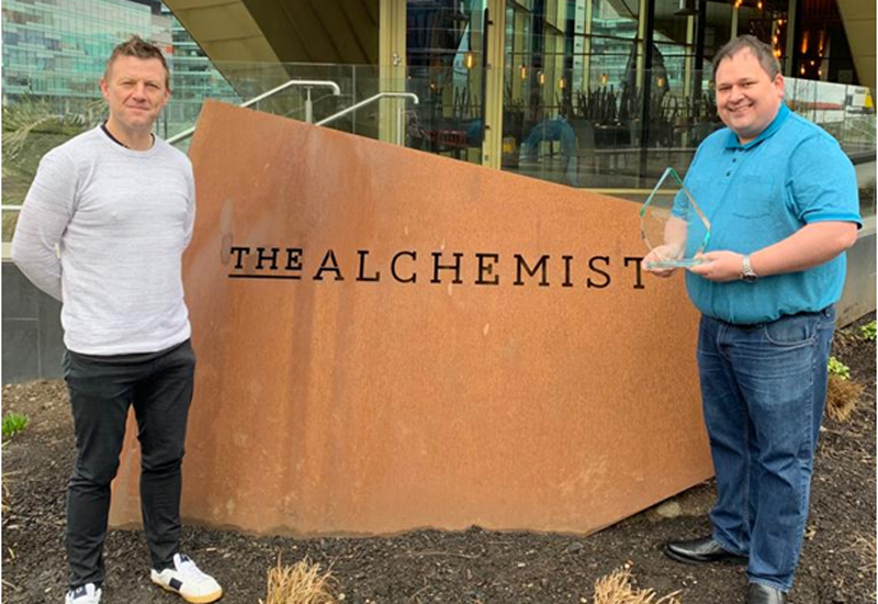 Jared Greenhalgh, Panasonic & Seamus O'Donnell, The Alchemist, Executive Chef of the Year