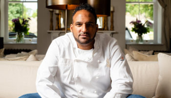 Michael Caines, executive chef, Lympstone Manor