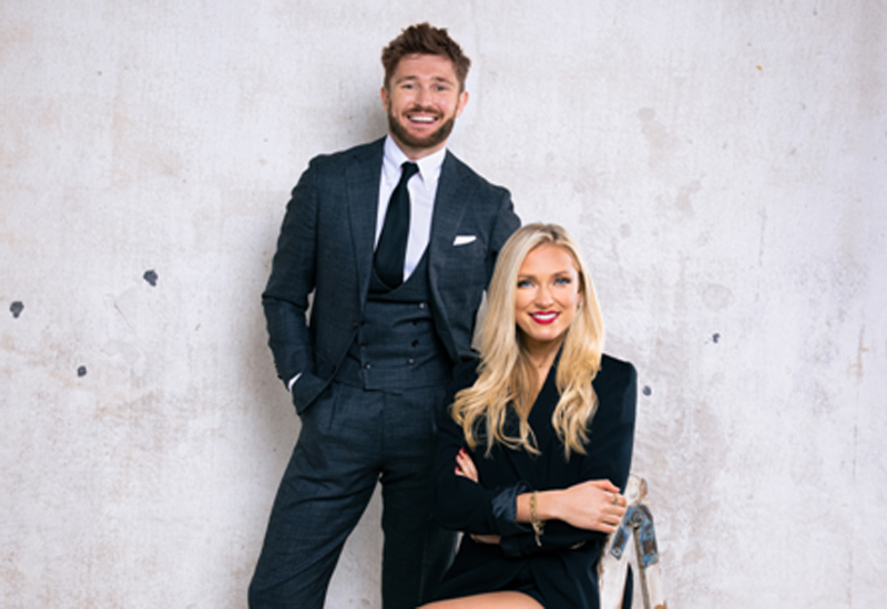 Mikey Pearce & Verity Bowditch, co-founders