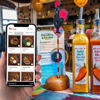 Nando's digital ordering