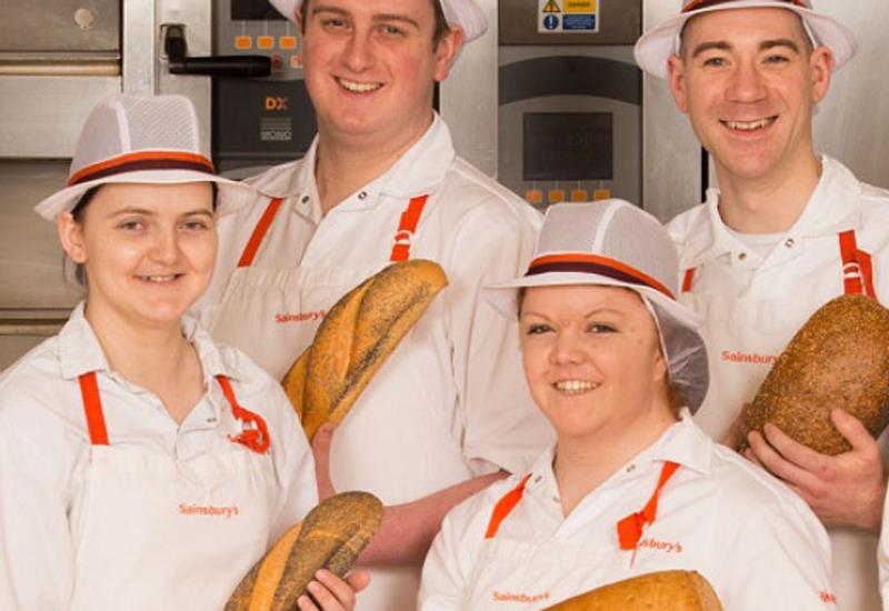 Sainsbury's bakery training
