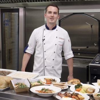 Theo Bostock, corporate chef