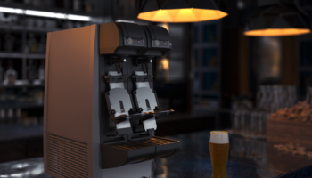 BeerMatic dual tap DBF-AS65WE-EU automatic beer dispenser