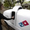 Domino's Nuro R2 autonomous delivery vehicle 2