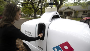 Domino's Nuro R2 autonomous delivery vehicle 2