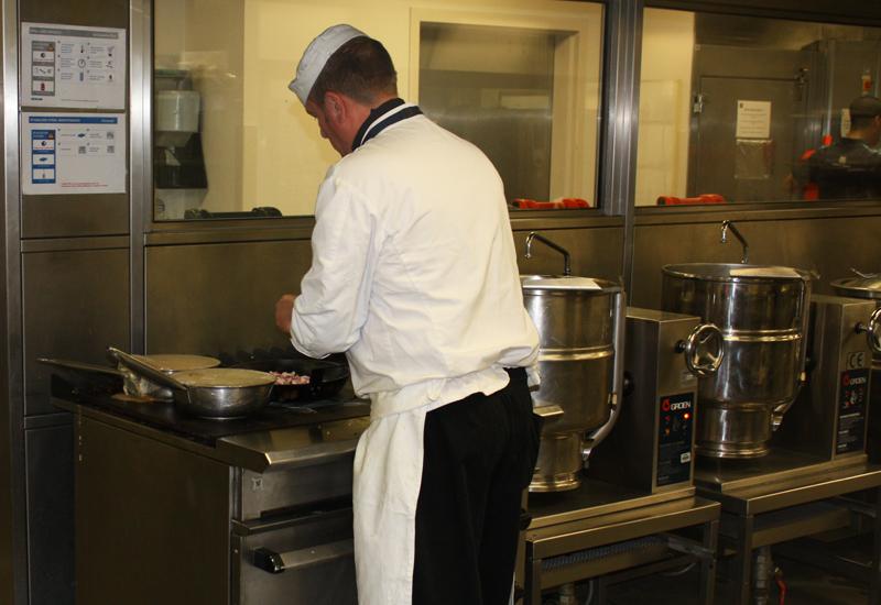 Chef in kitchen 1