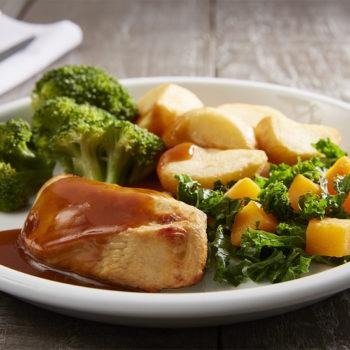 Steamplicity roast chicken