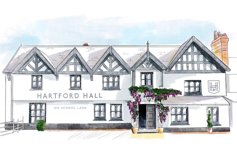 Hartford Hall, Northwich