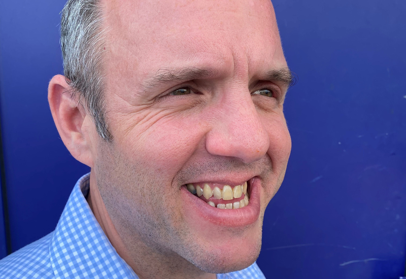 Steve Simmonds, national account manager