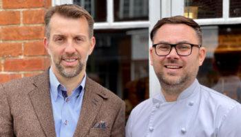 Simon King, owner and Matt Larcombe, chef director