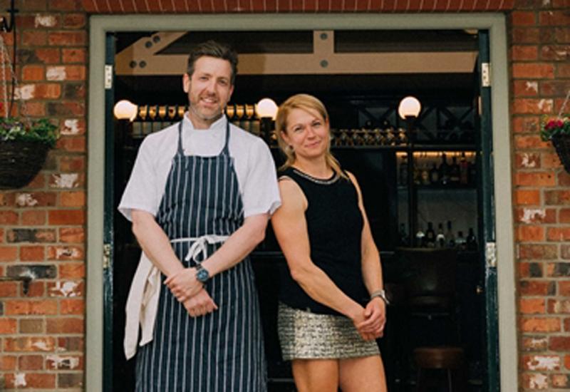 Matt Stokes, head chef and Christine Wondracek, general manager, The Woburn