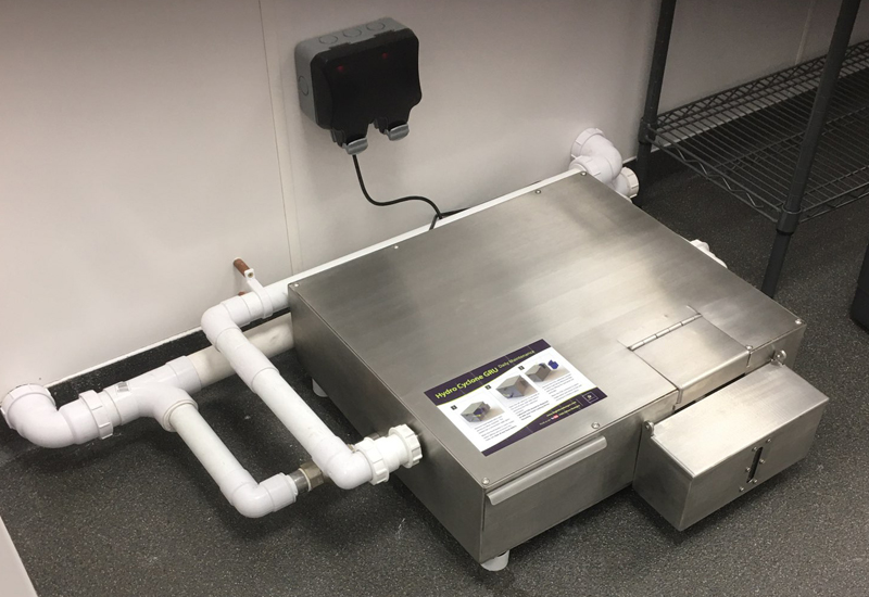 FiltaFog Cyclone LL grease recovery unit