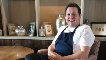 John Hooker, chef and owner, The Cornish Arms, Tavistock
