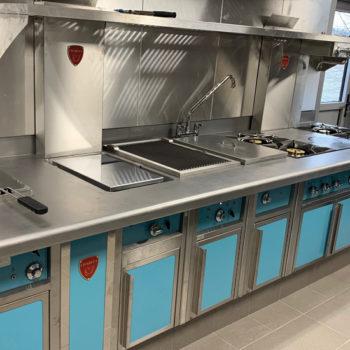 Charvet Pro 800 cooking suite light blue
