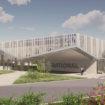 Artist's impression of new iVario factory, Wittenheim, France