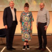 Dominic Blakemore, CEO, Carolyn Ball, director of net zero delivery and Robin Mills, UK managing director