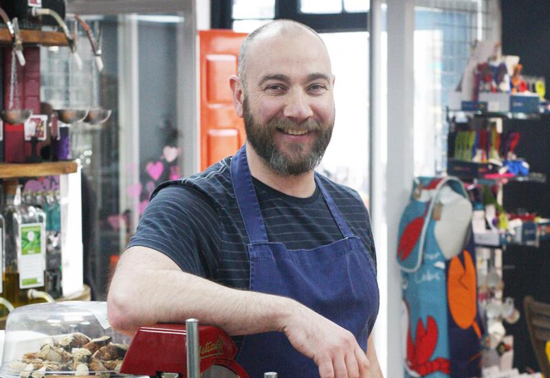 Dave Owen, owner, Mercado Deli