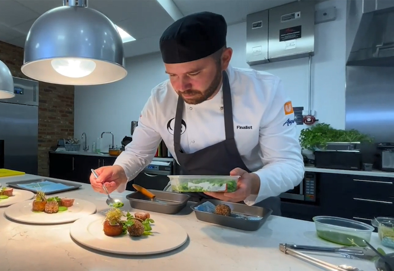 Mark Austin, executive chef, Northwood Military Headquarters