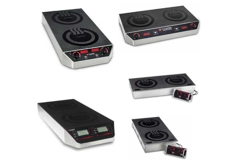 CookTek induction twin range