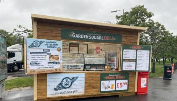 Roadchef open-air food hut