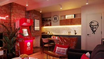KFC pop-up hotel