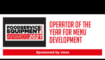 Operator of the Year for Menu Development 2021