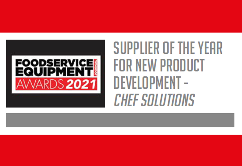 Supplier of the Year for New Product Development – Chef Solutions