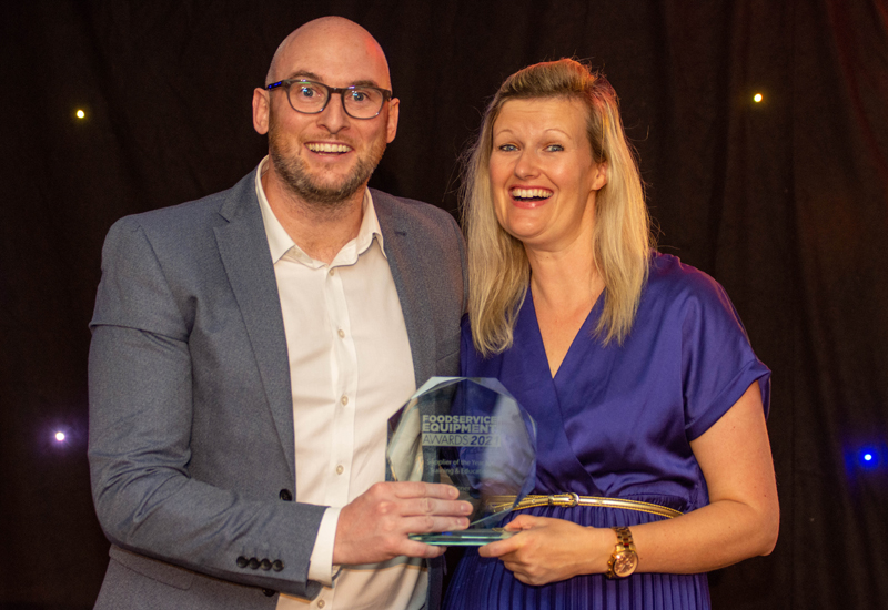 Supplier of the Year for Training & Development 2021
