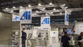 Ali Group stand, HOST 2021